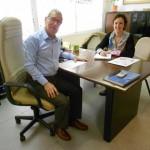 Notre équipe en Espagne – Jean-Jacques Lepage & Marta Hernandez